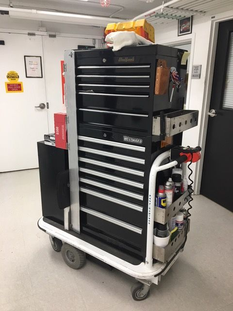 Motorized Platform Tool Carts
