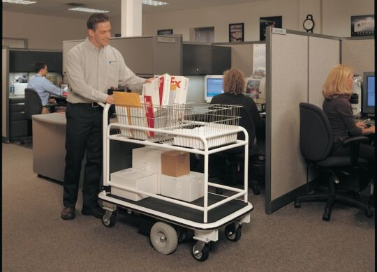 Office Mail Delivery Cart
