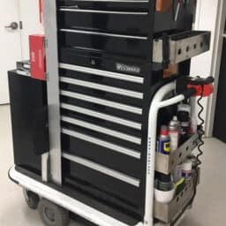 Carts & Tuggers for Maintenance Staff Safety