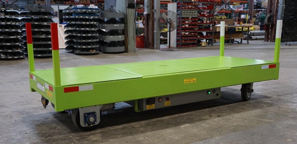 Custom Transfer Cart Commercial Metal Processing Industry